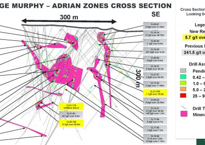 drill-zone-Appalachian-TSXV-Stock-public-company-Galway-Metals-Clarence-Stream-gold-project-New Brunswick-Estrades-mine-Casa-Berardi-Quebec-Canada